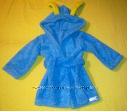 Тёплый халатик для мальчика