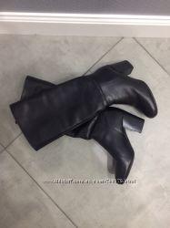Сапоги кожаные ALDO с коробкой