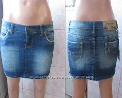 Абсолютно новая джинсовая юбка