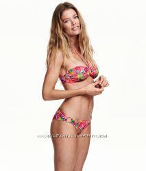 H&M новый тропический купальник с бирками в наличии