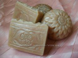 Натуральное мыло ручной работы Медовое
