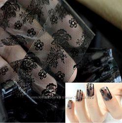 Декор ногтей, наклейки, фольга, пленка