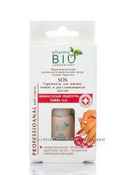 Bio Pharma. Укрепитель SOS для мягких, тонких и расслаивающихся ногтей