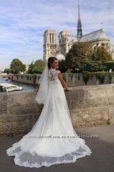 Свадебное платье с накидкой США