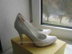 Туфли белые Ellenka 38р.