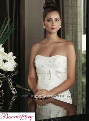 Новое стильное свадебное платье