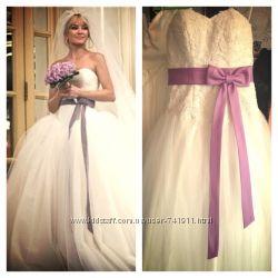 Пышное свадебное платье Веры Вонг