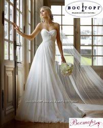 Свадебное платье прямой силуэт, новое