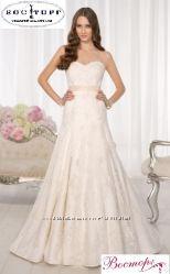 Новое свадебное платье из французского кружева