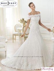 Новое свадебное платье прямого силуэта