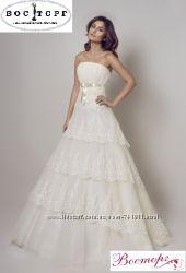 Эксклюзивное свадебное платье для истинной леди