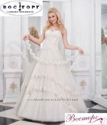 Красивейшее свадебное платье недорого