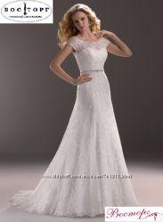 Новое свадебное платье А-силуэт
