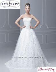 Кружевное свадебное платье недорого