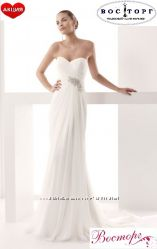 Новое очень нежное свадебное платье