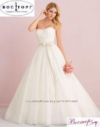 Грациозное и безумно красивое свадебное платье