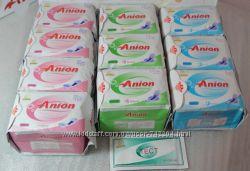Анионовые гигиенические прокладки Anion Lovemoon, русский язык