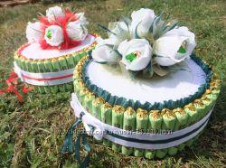 Торт з цукерок