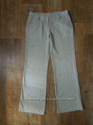 Летние льняные брюки S-M