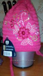 Польские теплые шапуньки для принцесс два цвета цена СП