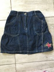 Юбка джинсовая на рост 116 см