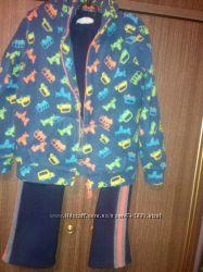 Спортивный костюм Сool Сlub 128 Mothercare 134флис