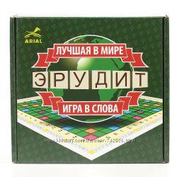 Игра Эрудит - для всей семьи, есть рус. и укр. варианты.