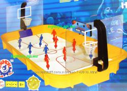 Баскетбол игра настольная детская, игроки на пружинах. Качественная. Украин