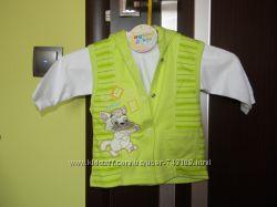 Продам детский костюм, до 6 месяцев, Турция