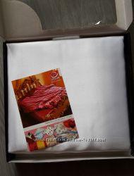 Постельное белье ТМ Драйв Украина - Атлас, Евро. Распродажа