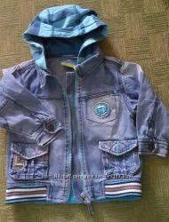 Джинсовая куртка на мальчика Topolino 2-3 года