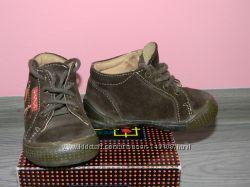 Демисезонные ботиночки р. 20, замша-кожа
