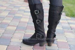 кожаные  сапоги еврозима Gabor. Раз. 36