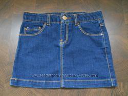 Юбка джинсовая Zara 9-10 лет 140 рост