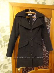 Кашемировое пальто 46 размер бу