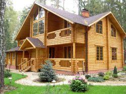Построим деревянный дом из сруба по цене ниже стоимости квартиры