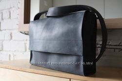 Скидка Кожаная винтажная сумка