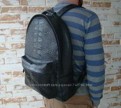 Большой кожаный рюкзак. Big Size