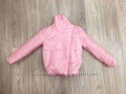 Куртка женская розовая и черная