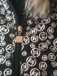 Оригинальная стеганная курточка бомбер Chanel