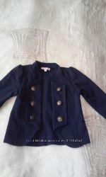 Пиджак синего цвета трикотаж
