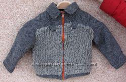 Куртка демисезонная полиестер-хлопок  8 мес - 2 года