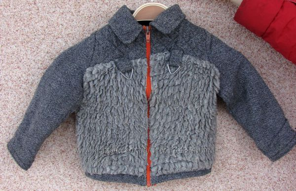 Куртка демисезонная полиестер-хлопок  1 - 3 года