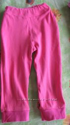 Штаны легкие 1-2 года, длина 46, пояс резинка 18 см