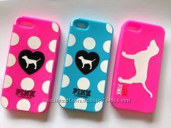 Чехол для iPhone 4 4S 5 5S 5С 6 6 plus Victorias Secret pink