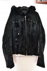 Куртка из натуральной замши.