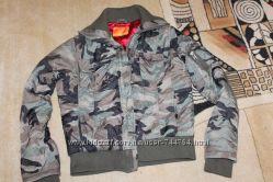 курточка деми защитной расцветки 46рр