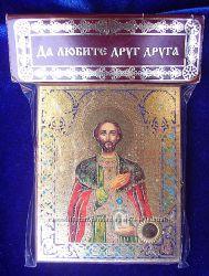 Икона с капсулой покровитель имени Св Роман Освящена, Новая