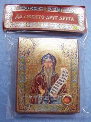 Икона с капсулой покровитель имен Свят Никита Освящена, Новая