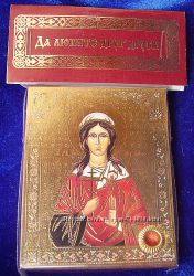 Икона с капсулой покровительница имен Вероника, Виринея. Освящена Новая